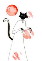 Catvember: Red Moon