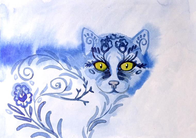 Catvember: Beauty by yanadhyana