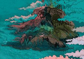 Far Island by yanadhyana