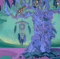 WIP: Sleeping Tree by yanadhyana