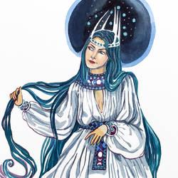 Tsarevna of the Three Moons by yanadhyana
