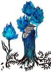 Inktober Overgrown