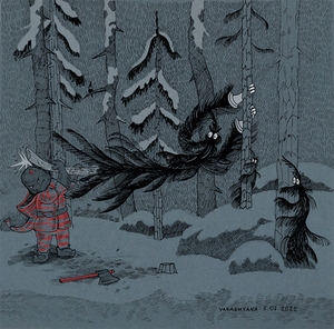 I will not go out of the forest