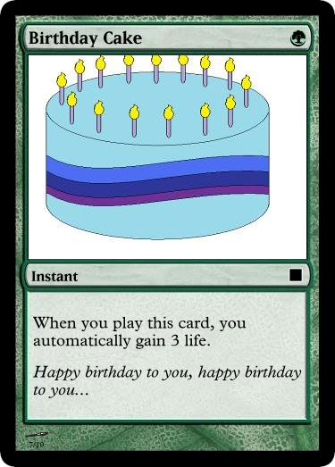 Magic The Gathering Birthday Card Gallery Free Birthday Card Design