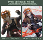 Draw this again Meme - Hyo!
