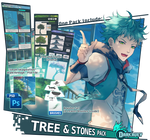 [Xen-Tutor] - Tree and Stones Pack