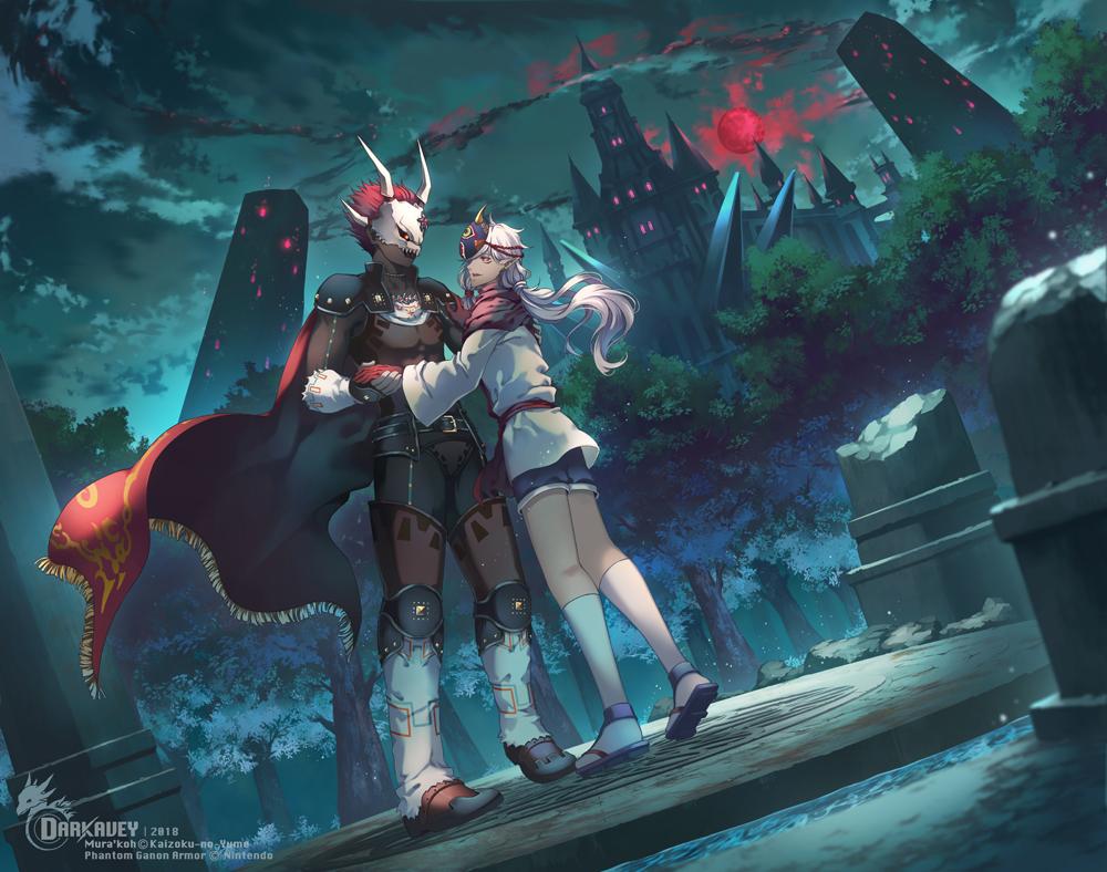 Mura'koh and Phantom Ganon Armor by Darkavey