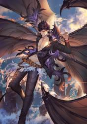Fanart: One Fallen Angel by Darkavey