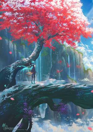 End of Ruby Forest by Darkavey