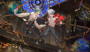 Commission : Raze and Neros