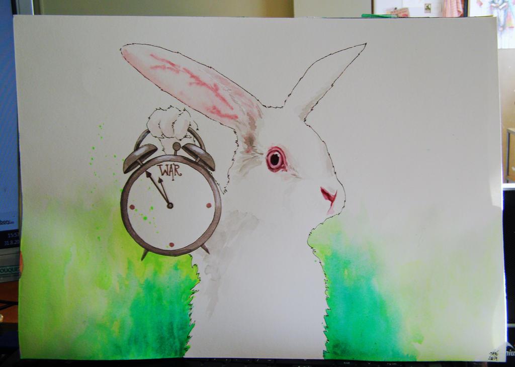 The White Rabbit by TariWonka