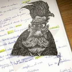 Finishing Homework by WindowRattler
