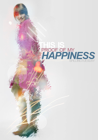 Happiness by spillingtuesday
