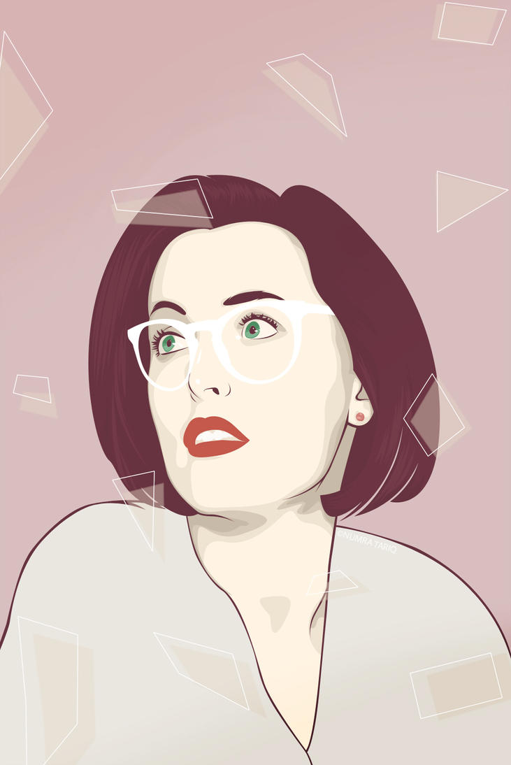 Scully by spillingtuesday