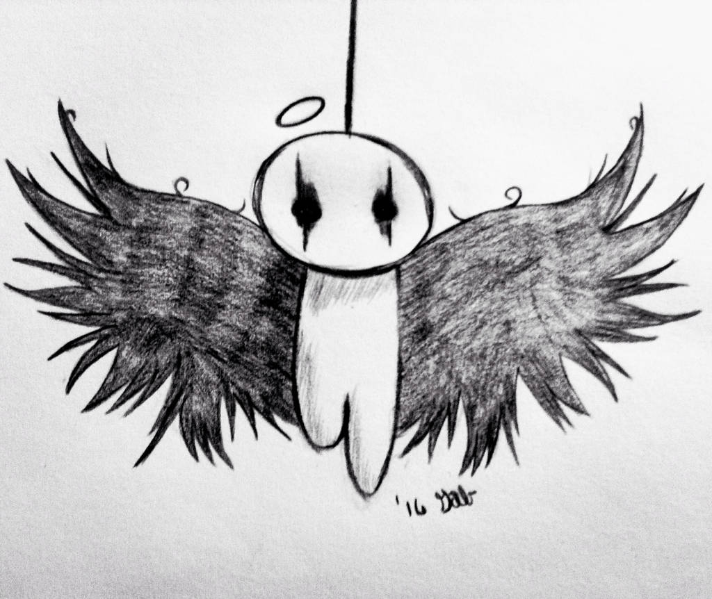 Emo Angel From A Drawing Tutorial By Dragoart By Colourbomb99 On