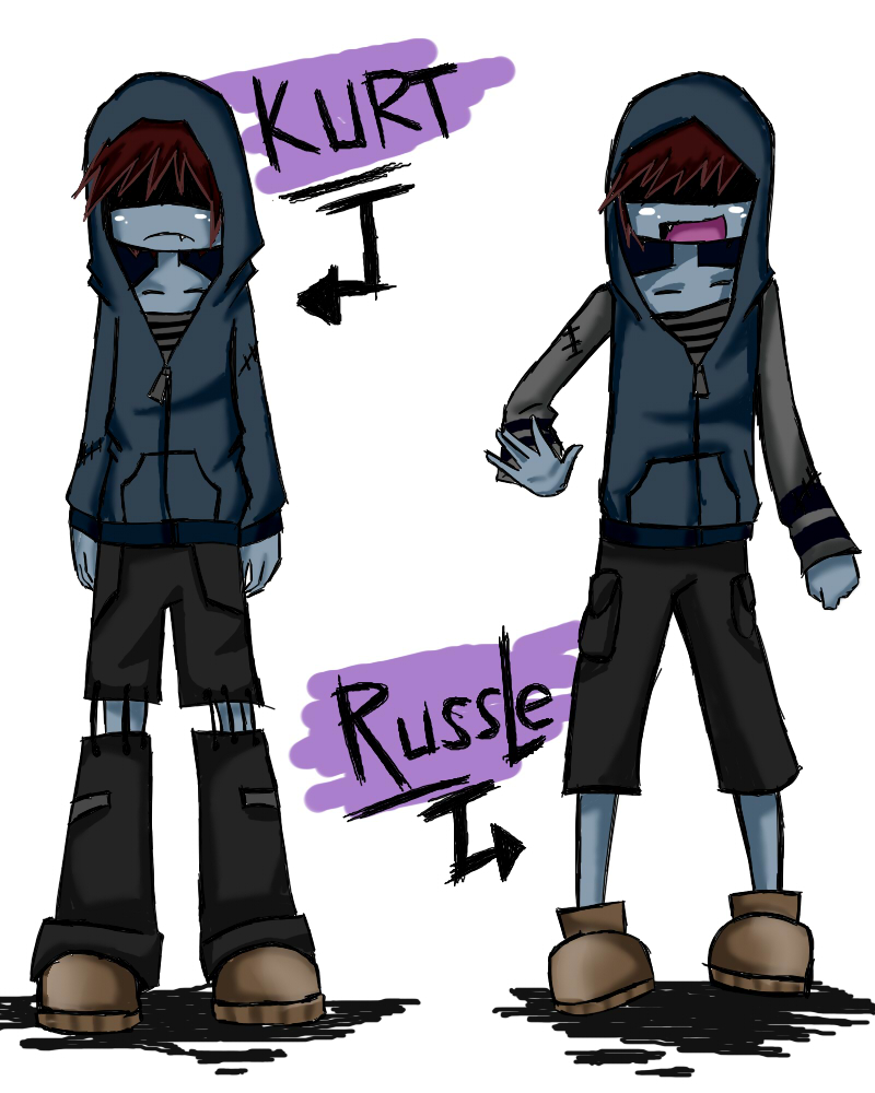 Kurt and Russle by artisticApparition