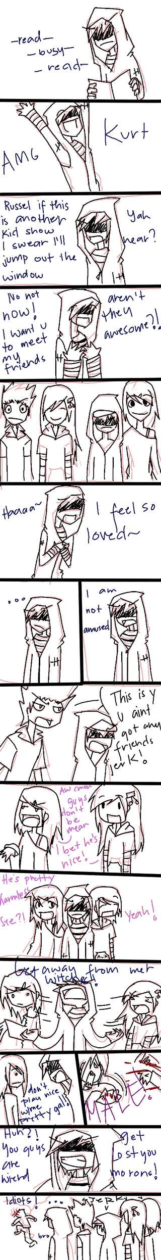 Kurt's a jerk by artisticApparition