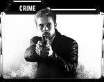 Brad Pitt CRIME Folder icon