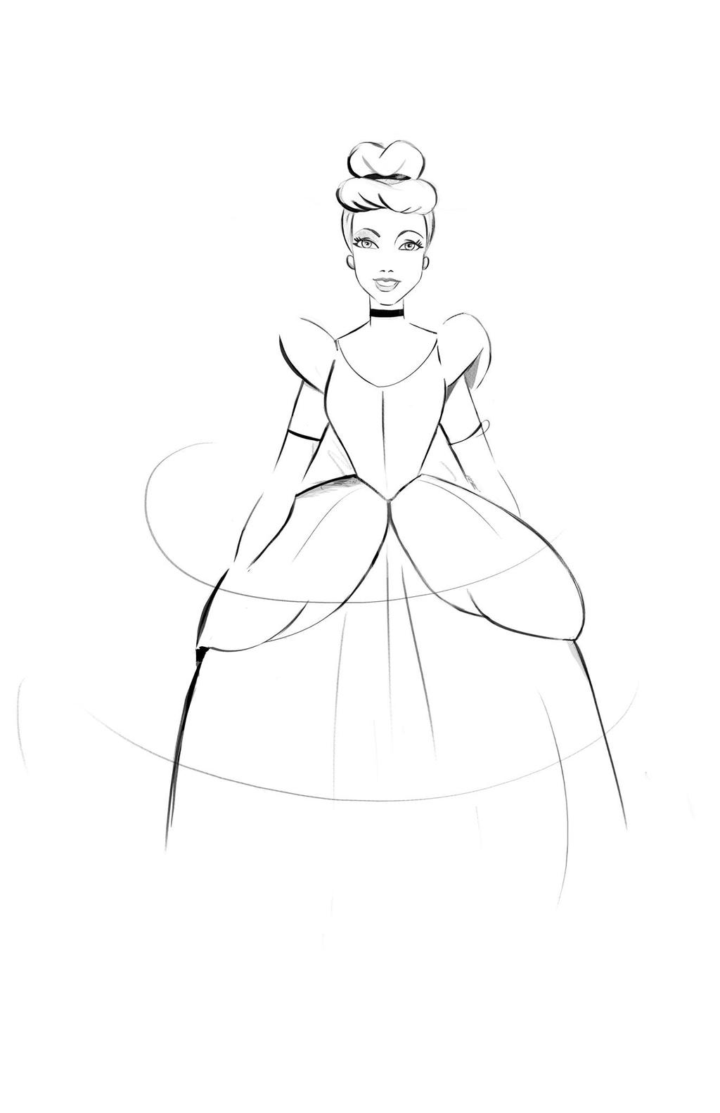 Cinderella doodle by didouchafik on DeviantArt