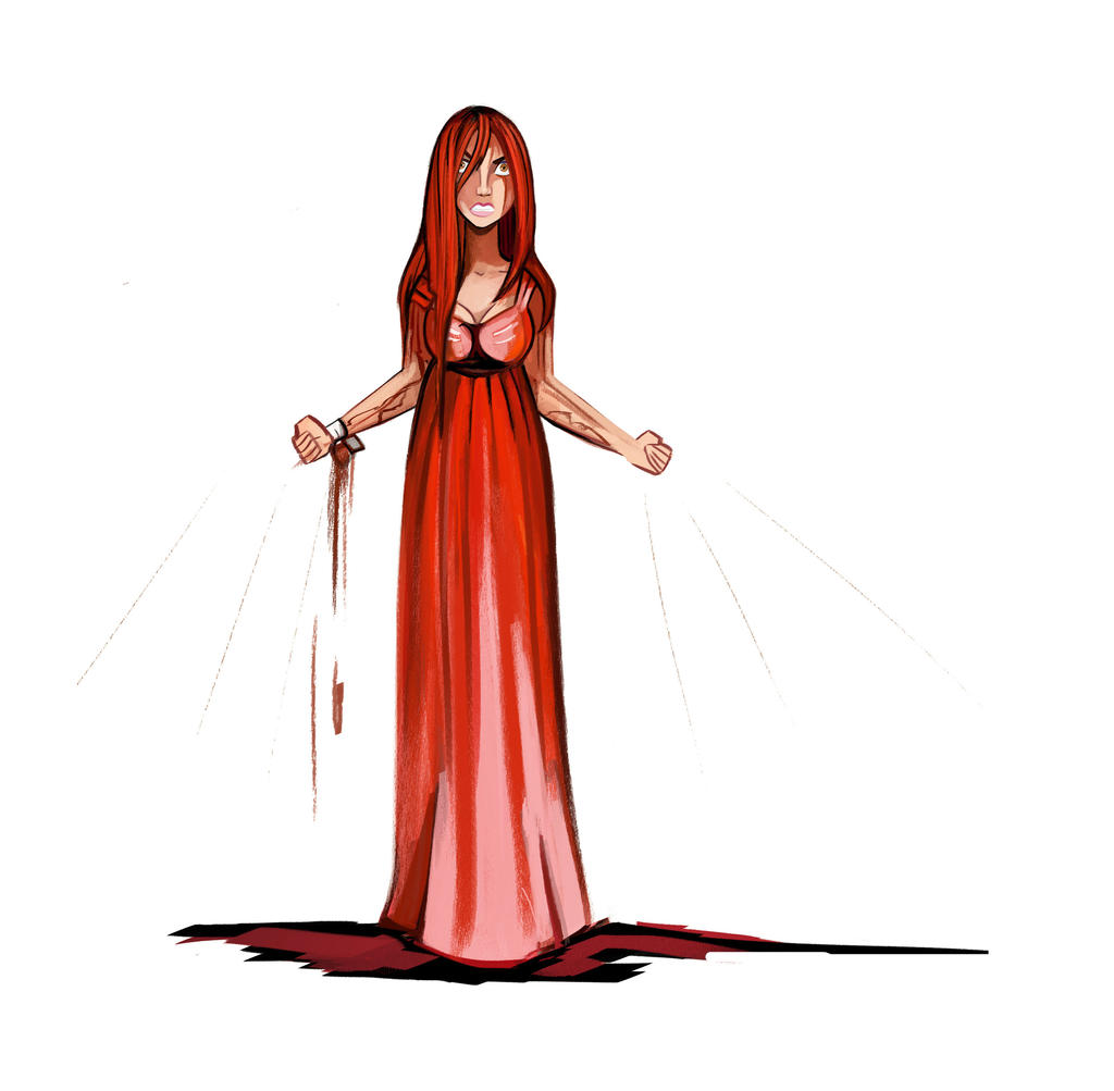 For she is ...Carrie White by didouchafik on DeviantArt