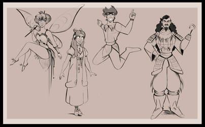 Teen Pan Cast by didouchafik