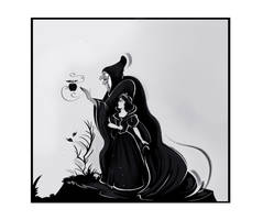 Snow White doodle by didouchafik