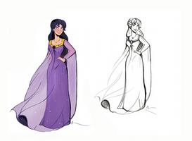 Princess Amina by didouchafik