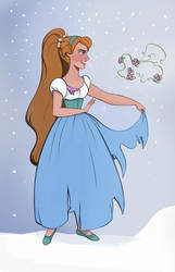 Don Bluth's Thumbelina by didouchafik