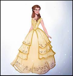 Emma Watson as Belle by didouchafik