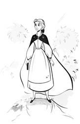 Belle -  Sketch by didouchafik
