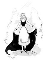 Cinderella - Sketch by didouchafik