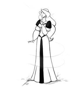The Swan Princess - Odette doodle
