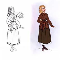 Anastasia Broadway - Doodle by didouchafik