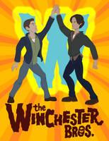 Dean and Sam as Hank and Dean by JasonDriskill