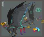 Twilight Dragon Adoptable -SOLD-