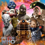 Doctor Who - Monster Mash 1 by DrWho50thAnniversary