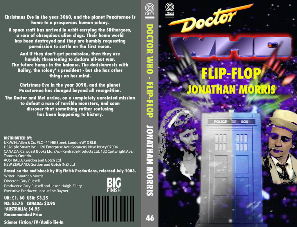 eb36fd38a Doctor Who - Flip-Flop by DrWho50thAnniversary on DeviantArt
