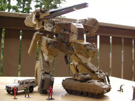 Metal Gear Rex Desert Camo 19 by Jinyol