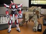 Metal Build ARX-8 Laevatein from Bandai