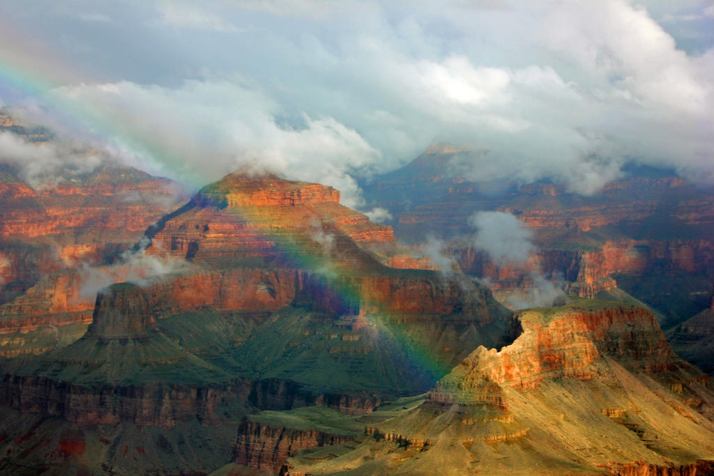 Canyon Rainbow by vseger
