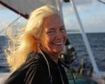 Lady on the Sunset Cruise
