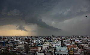 Storm Over Jaipur