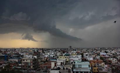 Storm Over Jaipur