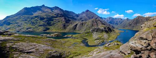 Loch Coruisk Panorama
