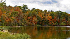 Fishing in the Fall Color
