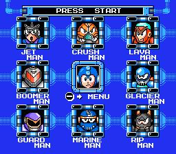 Mega Man  Beat Letters