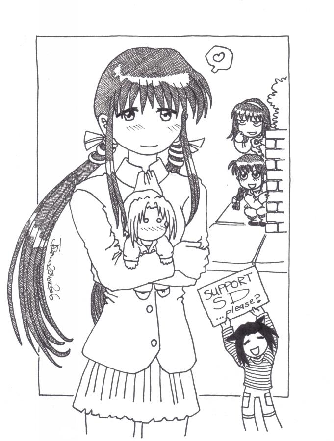 Yuki-chan's Piro-sensei by ThumbJr