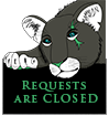 Requests are CLOSED by MissBlackNails