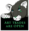 Art trades are OPEN by MissBlackNails