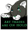 Art trades are ON HOLD by MissBlackNails